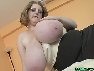 BBW MILF Strips To Show Off Her Massive..