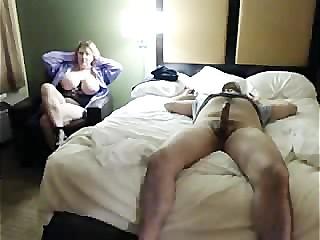 Horny Big Tit Stepmom Sneaks..