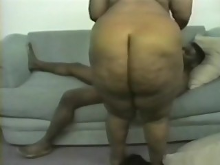 Vintage ebony big ass momma pb