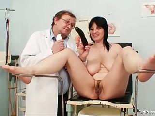 Big tits plump milf Zora hairy pussy..