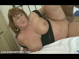 British Mom Finds Younger Cock to Shag