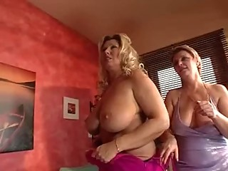group czech party busty mom