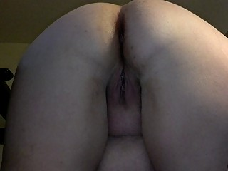 big ass bbw  mom doggy style creampie