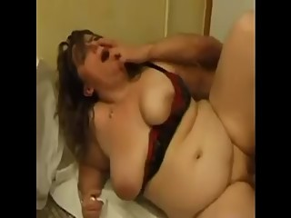 FRENCH MATURE anal bbw mom with younger..