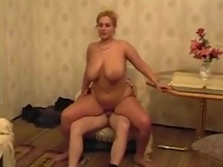 Busty MILF Primes and Fucks her Neighbor