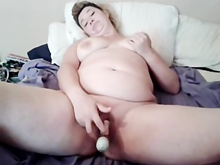 my wife play with her toy